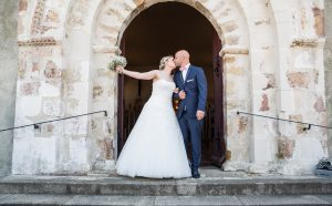 Église de mariage Photographe de mariage en Vendée
