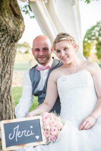 Photo de remerciement Extérieur Merci Photographe de mariage à saint-gilles-croix-de-vie