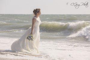 la mariée afterday seance photo plage