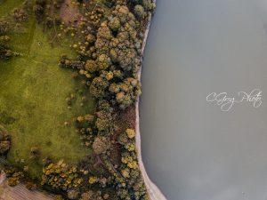 mis terre mis lac photo drone lac du jaunay