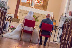 photo église photographe de mariage en vendée