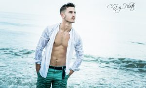 photo portrait dans l'eau cgregphoto photographe en vendee