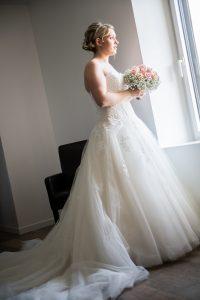 photo robe de mariage photographe de mariage saint gilles croix de vie en vendée