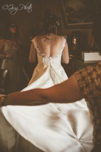 photo robe de marié