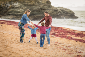 seance photo famille plage saint hilaire de riez