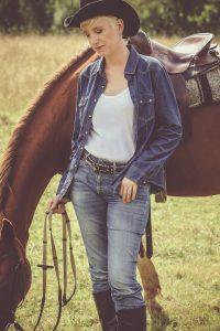 seance photo portrait a cheval vendee
