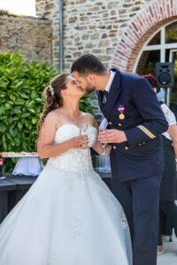 amour photo de mariage en vendee